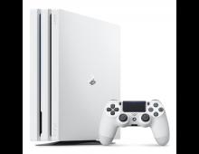 Pirkt Spēļu konsole SONY PS4 Pro 1TB White  Elkor