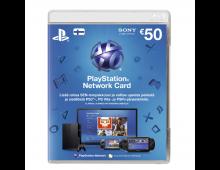Participation fee SONY PSN Live Card 50 EUR PSN Live Card 50 EUR