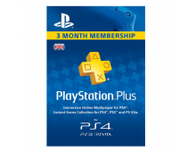 Плата за участие SONY PSN Plus 3 Month Membership UK PSN Plus 3 Month Membership UK