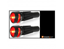 Купить Фонарик Q-LITE Red Road Bike Bar End Light QL-219-2 Elkor