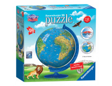 Pirkt 3D puzzle RAVENSBURGER Childrens World Map R12338 Elkor