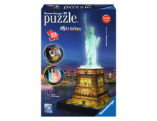 3D puzzle RAVENSBURGER Statue Of Liberty At Night Statue Of Liberty At Night