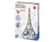3D puzzle RAVENSBURGER Eiffel Tower, Tula Moon Special Edition Eiffel Tower, Tula Moon Special Edition