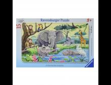 Buy Puzzle RAVENSBURGER Animals of Africa R06136 Elkor