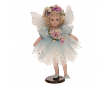 Doll RF COLLECTION Porcelain Doll Feather Wings 47cm Porcelain Doll Feather Wings 47cm