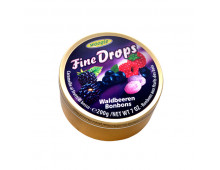 Pirkt Konfektes WOOGIE Fine Drops Waldbeeren bonbons 9002859055614 Elkor