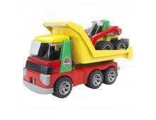 Купить Трактор BRUDER ROADMAX truck+excavator 20070 Elkor