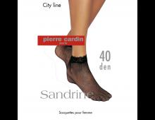 Zeķes PIERRE CARDIN Sandrine Nero Sandrine Nero