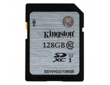 Купить Карта памяти KINGSTON 128GB SDXC Cl 10 UHS-I SD10VG2/128GB Elkor
