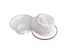 Buy Form for baking SILIKOMART Bon Ton White SFT324 Elkor
