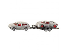 Set of cars SIKU with Trailer with Trailer