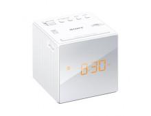 Buy Clock radio SONY ICF-C205S White ICFC1W.CED Elkor
