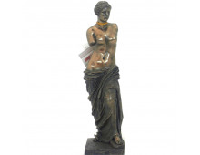Decorative figurine ITALFAMA Statue Resin Bronze Finish Venus Of Milo Statue Resin Bronze Finish Venus Of Milo