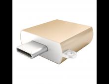 Купить Адаптер SATECHI Type C-Type A USB Gold ST-TCUAG Elkor