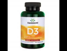 Pirkt Vitamīni SWANSON D3 1000 SV  N250 SW1030 Elkor