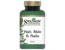Pirkt Uztura bagātinātājs SWANSON Hair,Skin&Nails N60 SW883 Elkor