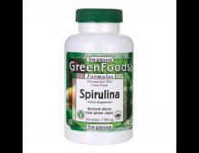 Pirkt Uztura bagātinātājs SWANSON Greens Spirulina 500 Mg 180 Tabs SWR010 Elkor