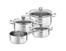 Buy Set of pots TEFAL Duetto SS Set 7P A705A835 Elkor