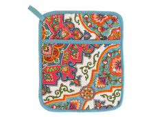 Thermal glove for kitchen ULSTER WEAVERS Pot Mitt Moroccan Tiles Pot Mitt Moroccan Tiles