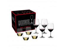 Комплект бокалов RIEDEL Vinum Bordeaux Pay 4 Get 8+O Viognier Vinum Bordeaux Pay 4 Get 8+O Viognier