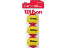 Купить Теннисный мяч WILSON Starter easy 3 137000 Elkor