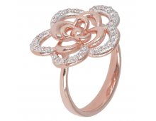 Buy Ring BRONZALLURE Alba Flower WSBZ00820.WR Elkor