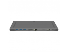 Pirkt USB koncentrātors WIWU 11-in-1 USB-C Hub Space Grey WW-11-GR Elkor