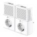 Buy Wi-Fi adapter TP-LINK AV1000 Gigabit Passtrough Powerline Starter Kit TL-PA7020PKIT Elkor