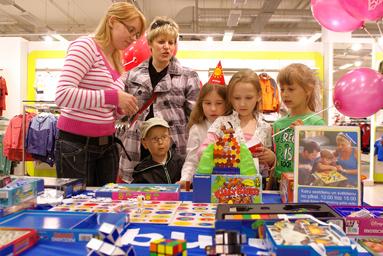 Фоторепортаж c Детского праздника в Elkor Plaza 7