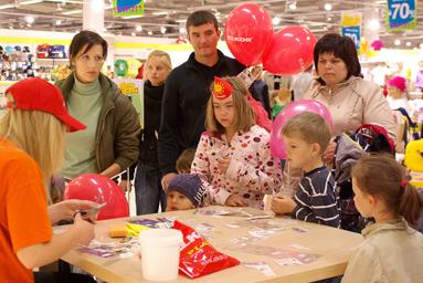 Фоторепортаж c Детского праздника в Elkor Plaza 8