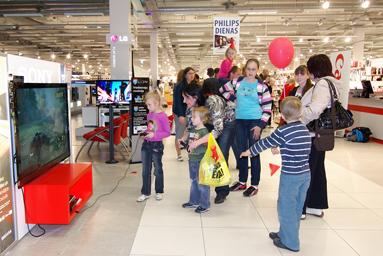 Фоторепортаж c Детского праздника в Elkor Plaza 6