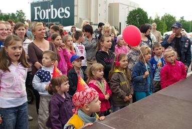 Фоторепортаж c Детского праздника в Elkor Plaza 23