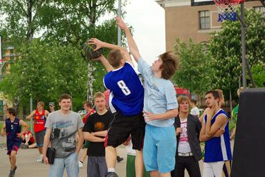 Фоторепортаж с чемпионата по Streetball 3