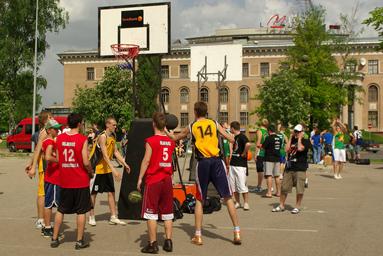 Fotoreportāža Streetball čempionāts 6