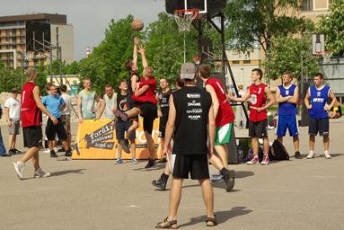 Фоторепортаж с чемпионата по Streetball 7