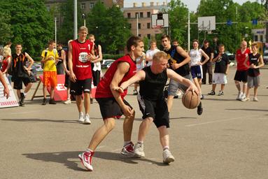 Фоторепортаж с чемпионата по Streetball 8
