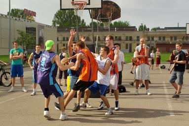 Фоторепортаж с чемпионата по Streetball 9
