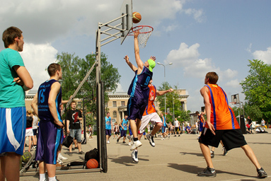 Фоторепортаж с чемпионата по Streetball 10