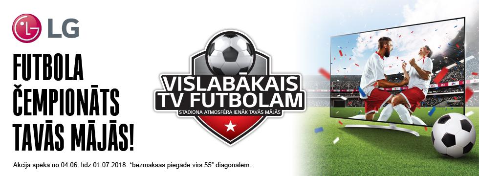 LG labākais TV futbolam