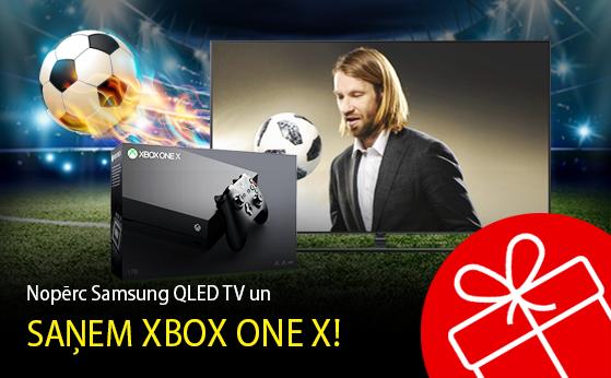 Nopērc Samsung QLED un saņem Xbox One