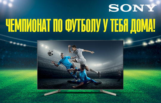 Sony Чемпионат по футболу у тебя дома