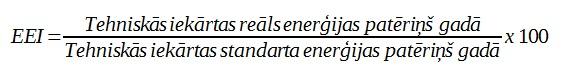 EEI izrekinshanas formula